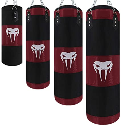 Boxing Sandbags Training